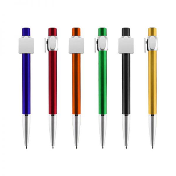 Bolígrafo Plástico Badge