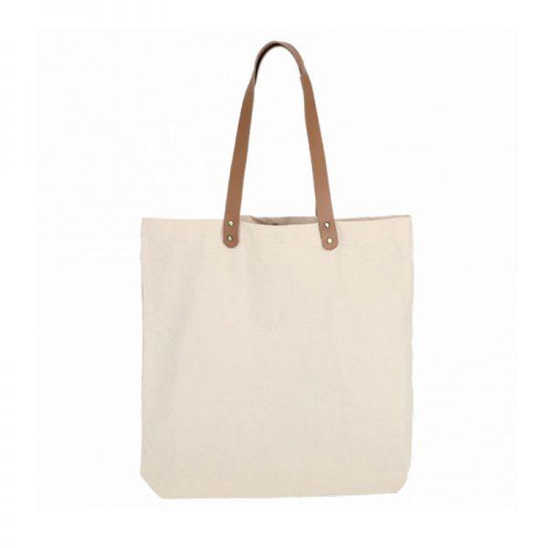 Bolsa Acacia de algodón y yute 45x45x8