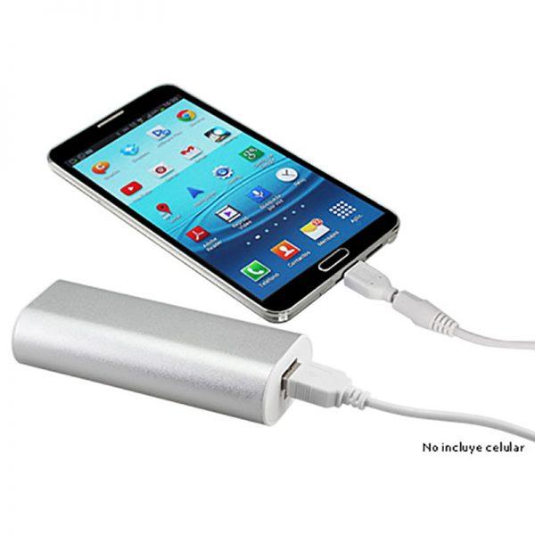 Cargador Power Bank Metálico 5200mAh